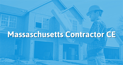 Massachusetts Contractor CE Commercial
