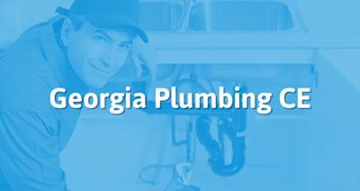 Georgia Plumbing Continuing Education Online Tradesmance Com